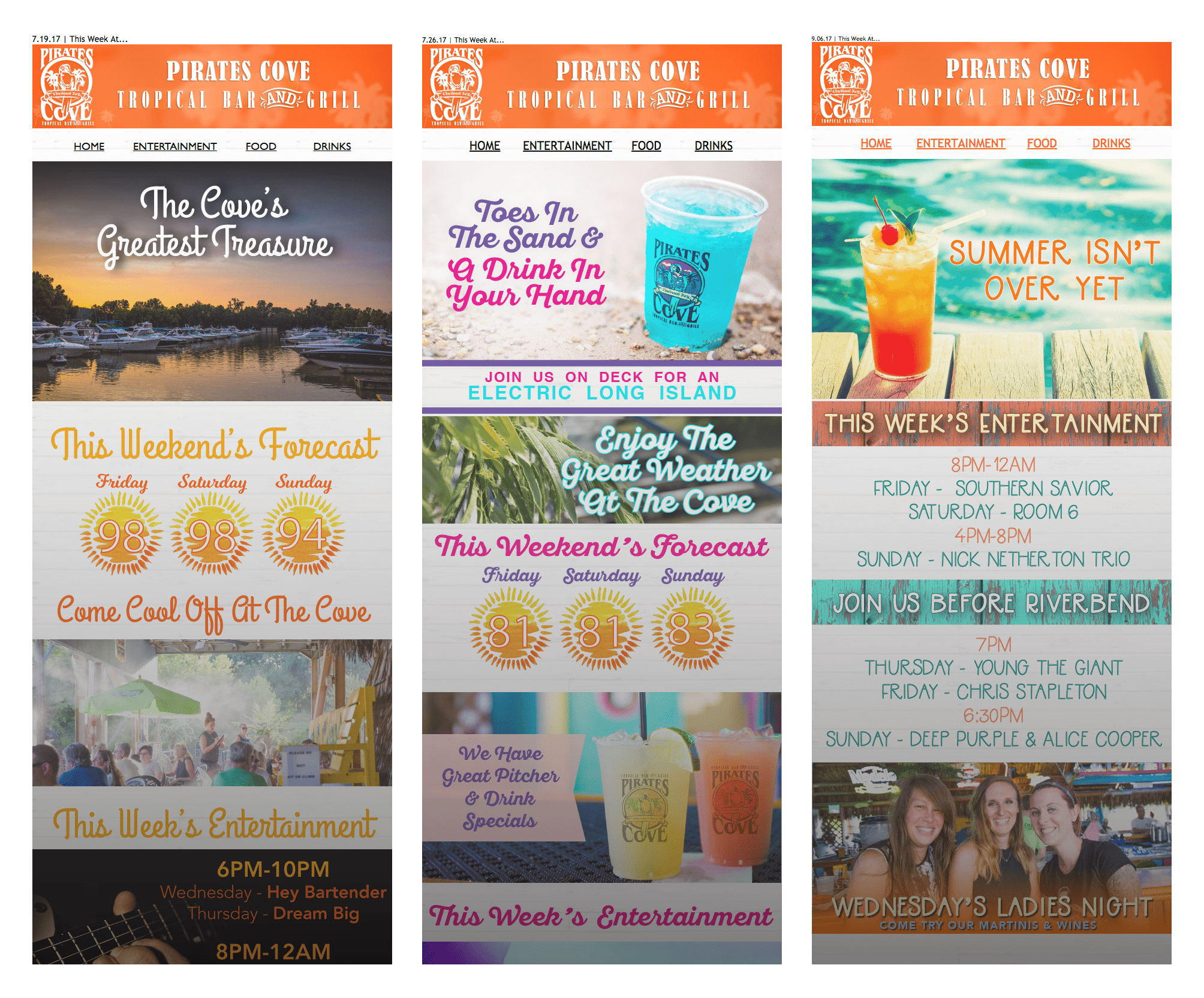 Pirate's cove coupons atlanta