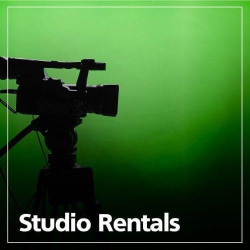 Studio Rentals graphic
