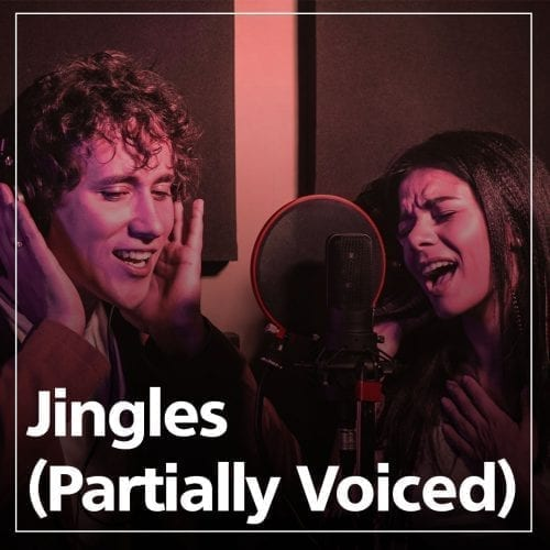 Jingles partial voiced graphic